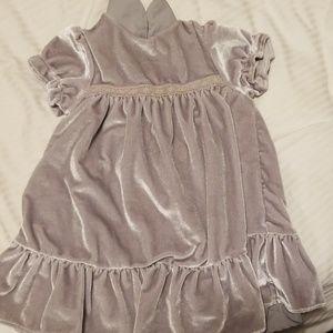 Satin baby dress